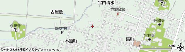 太桂寺周辺の地図