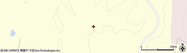 秋田県由利本荘市浜三川(北ノ沢)周辺の地図