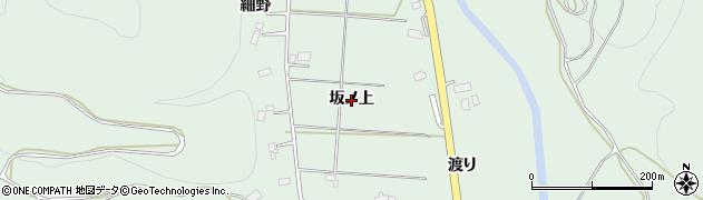 岩手県花巻市湯口(坂ノ上)周辺の地図