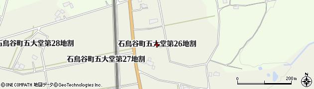 岩手県花巻市石鳥谷町五大堂(第26地割)周辺の地図