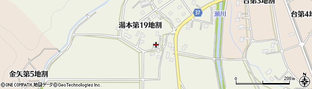 岩手県花巻市湯本(第19地割)周辺の地図