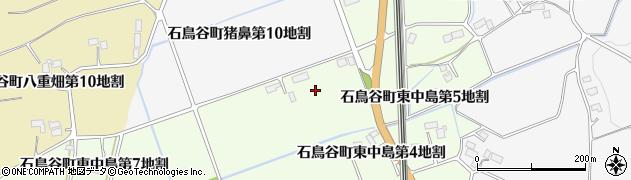 岩手県花巻市石鳥谷町東中島(第6地割)周辺の地図