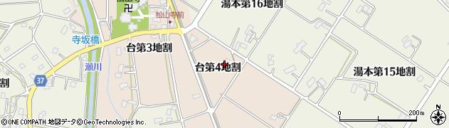 岩手県花巻市台(第4地割)周辺の地図