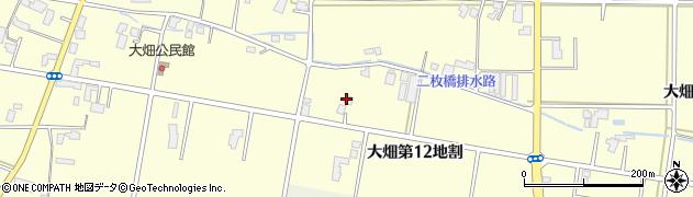 岩手県花巻市大畑(第12地割)周辺の地図