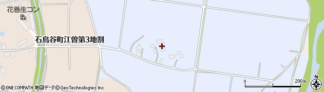 岩手県花巻市石鳥谷町黒沼(第2地割)周辺の地図