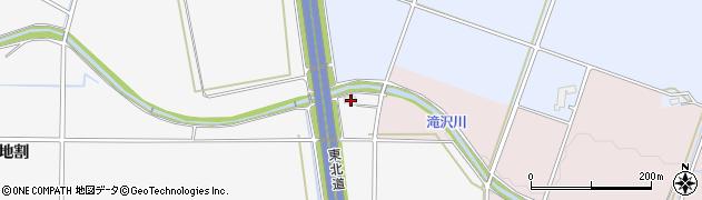 岩手県花巻市北湯口(第7地割)周辺の地図
