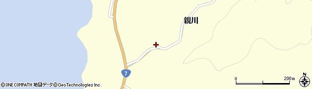 秋田県由利本荘市親川(田ノ沢)周辺の地図