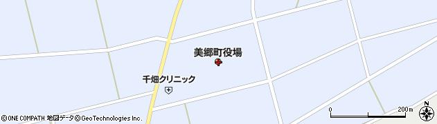 秋田県仙北郡美郷町周辺の地図