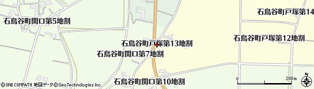 岩手県花巻市石鳥谷町戸塚(第13地割)周辺の地図