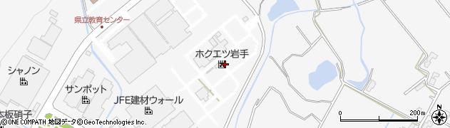 岩手県花巻市北湯口(第2地割)周辺の地図