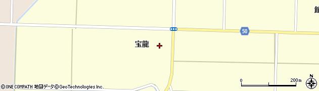 秋田県大仙市払田(宝龍)周辺の地図
