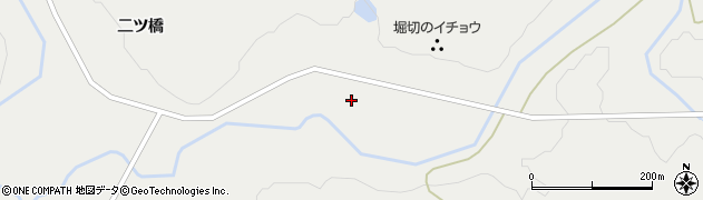 秋田県由利本荘市中俣(坂ノ下)周辺の地図
