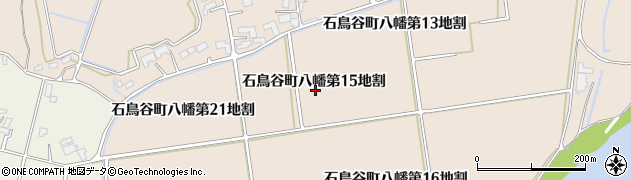 岩手県花巻市石鳥谷町八幡(第15地割)周辺の地図