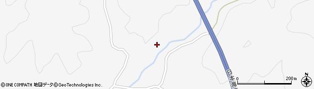 秋田県由利本荘市芦川(大向)周辺の地図