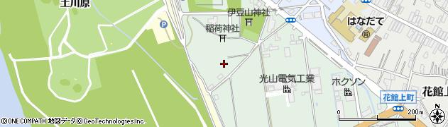 秋田県大仙市泉町周辺の地図
