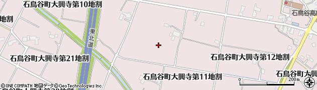 岩手県花巻市石鳥谷町大興寺周辺の地図