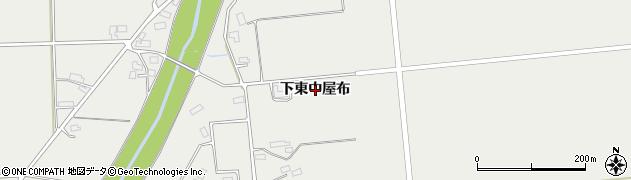 秋田県大仙市堀見内(下東中屋布)周辺の地図