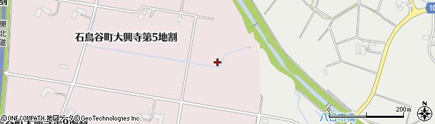 岩手県花巻市石鳥谷町大興寺(第6地割)周辺の地図