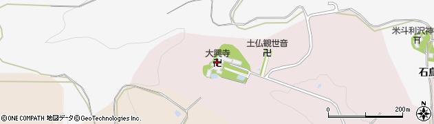 大興寺周辺の地図