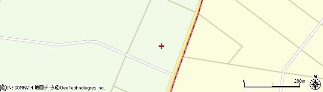 秋田県大仙市太田町三本扇(野沢)周辺の地図