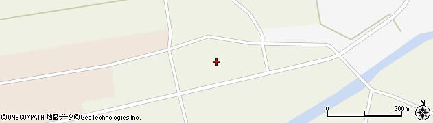 秋田県大仙市板見内(二井関)周辺の地図