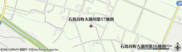 岩手県花巻市石鳥谷町大瀬川(第17地割)周辺の地図