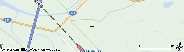 秋田県由利本荘市松ヶ崎(下高野)周辺の地図