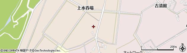 秋田県大仙市四ツ屋(上水呑場)周辺の地図