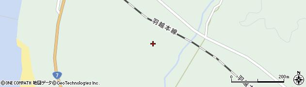 秋田県由利本荘市松ヶ崎(宮ノ後)周辺の地図