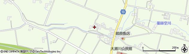 岩手県花巻市石鳥谷町大瀬川(第11地割)周辺の地図