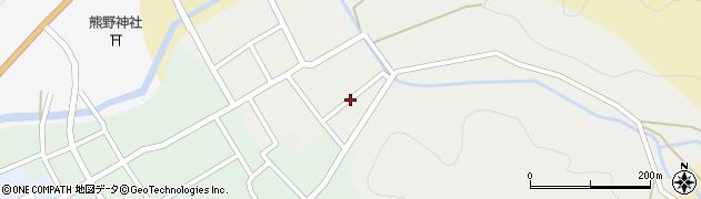 秋田県由利本荘市岩城亀田愛宕町(上小路)周辺の地図