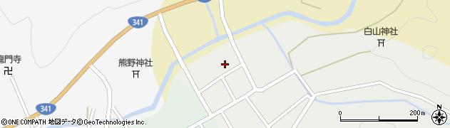 秋田県由利本荘市岩城亀田愛宕町(鷹匠町)周辺の地図