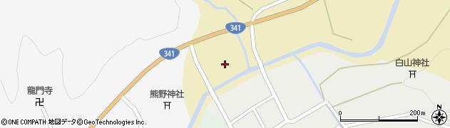 秋田県由利本荘市岩城冨田(根本)周辺の地図