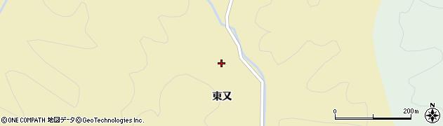 秋田県秋田市雄和神ケ村(中崎)周辺の地図