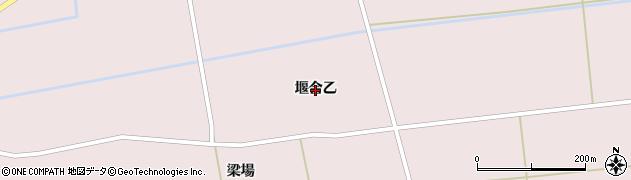 秋田県大仙市清水(堰合乙)周辺の地図