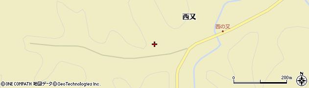 秋田県秋田市雄和神ケ村(稗鳥)周辺の地図