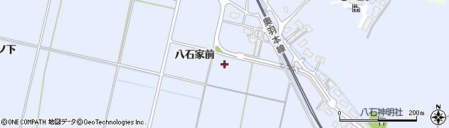 秋田県大仙市神宮寺(八石家前)周辺の地図