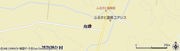 秋田県秋田市雄和神ケ村(舟卸)周辺の地図