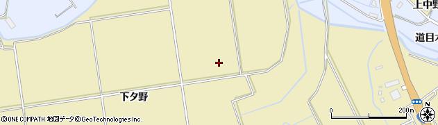 秋田県大仙市北楢岡周辺の地図