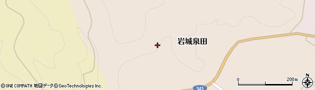 秋田県由利本荘市岩城泉田(長田)周辺の地図