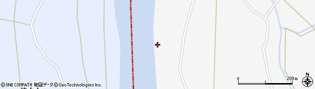秋田県大仙市協和小種(大川端)周辺の地図