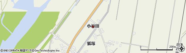 秋田県大仙市長野(小豆田)周辺の地図