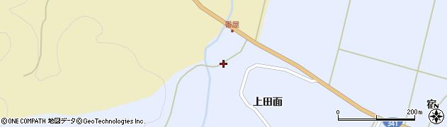 秋田県秋田市雄和繋(下モ谷地)周辺の地図