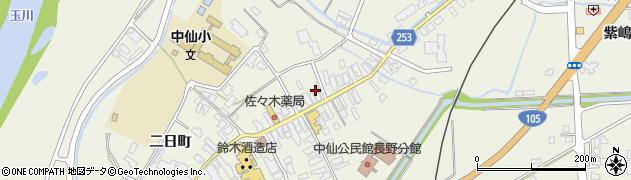 秋田県大仙市長野(六日町)周辺の地図