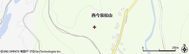 秋田県大仙市土川(西今泉松山)周辺の地図