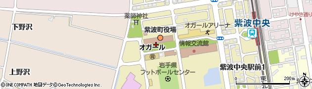 岩手県紫波郡紫波町周辺の地図
