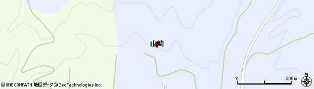 秋田県由利本荘市岩城道川(山崎)周辺の地図