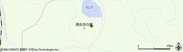 秋田県由利本荘市岩城内道川(ガザ平)周辺の地図