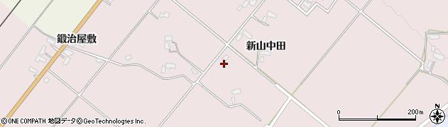 秋田県大仙市北長野周辺の地図