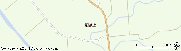秋田県大仙市協和下淀川(沼ノ上)周辺の地図